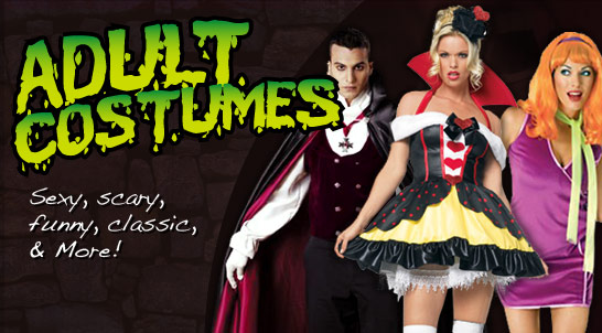 Spirit Halloween Adult costumes
